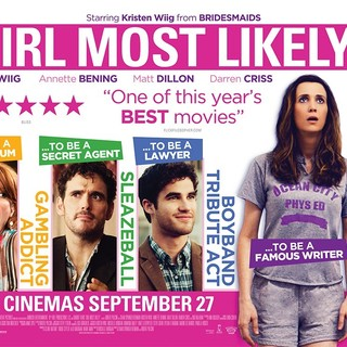 Poster of Lionsgate Films' Girl Most Likely (2013) - girl-most-likely-poster03