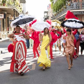 Queen Latifah, Tiffany Haddish, Jada Pinkett Smith and Regina Hall in Universal Pictures' Girls Trip (2017)