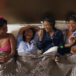 Regina Hall, Jada Pinkett Smith, Tiffany Haddish and Queen Latifah in Universal Pictures' Girls Trip (2017)