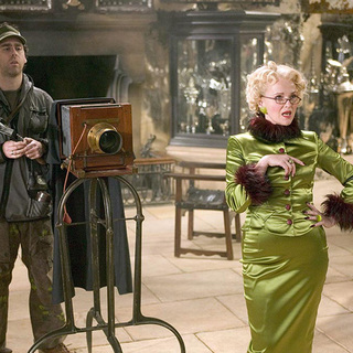 Miranda Richardson as Rita Skeeter, the Daily Prophet gossip columnist - goblet_of_fire17