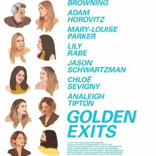 Poster of Washington Square Films' Golden Exits (2018)