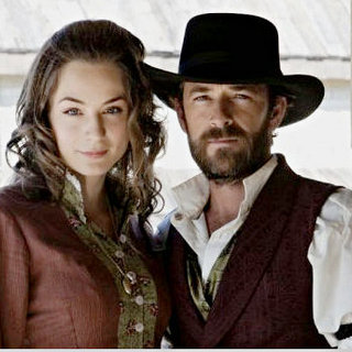 Lara Gilchrist stars as Kate Ramsey and Luke Perry stars as John Goodnight in Hallmark Channel's Goodnight for Justice (2011) - goodnight_for_justice03
