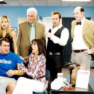 Jordana Spiro, Rob Riggle, James Brolin, Jeremy Piven and David Koechner in Paramount Vantage's The Goods: Live Hard, Sell Hard (2009)