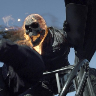 Ghost Rider: Spirit of Vengeance - Nicolas Cage stars as Johnny Blaze/Ghost Rider in Columbia Pictures' Ghost Rider: Spirit of Vengeance (2012)