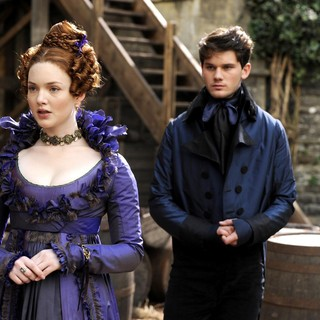 Great Expectations - Holliday Grainger stars as Estella Jeremy Irvine stars as Pip in Main Street Films' Great Expectations (2013)