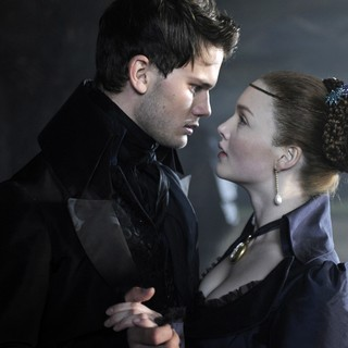 Jeremy Irvine stars as Pip and Holliday Grainger stars as Estella in Main Street Films' Great Expectations (2013)