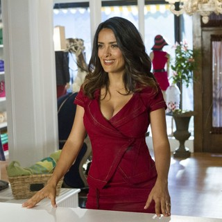 Salma Hayek stars as Roxanne Chase-Feder in Columbia Pictures' Grown Ups 2 (2013)