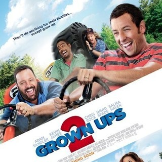 Poster of Columbia Pictures' Grown Ups 2 (2013) - grown-ups-2-poster01