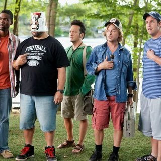 Chris Rock, Kevin James, Rob Schneider, David Spade and Adam Sandler in Columbia Pictures' Grown Ups (2010) - grown_ups13