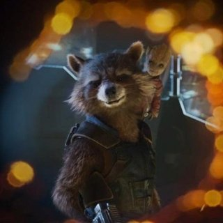 Guardians of the Galaxy Vol. 2 - Rocket and Baby Groot from Walt Disney Pictures' Guardians of the Galaxy Vol. 2 (2017)