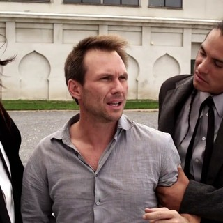 Michael Spears, Christian Slater and Eddie Spears in Independent Pictures' Guns, Girls & Gambling (2012)