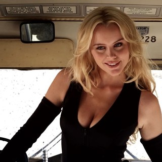 Helena Mattsson stars as The Blonde in Independent Pictures' Guns, Girls & Gambling (2012)