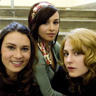 Kristina Klebe, Danielle Harris and Scout Taylor-Compton in MGM/Dimension Films' Halloween (2007)