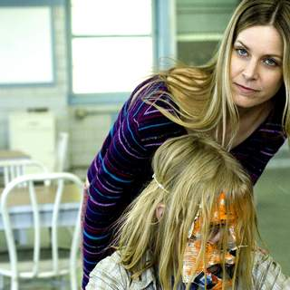 Sheri Moon Zombie as Deborah Myers and Daeg Faerch as Michael Myers (age 10) in MGM/Dimension Films' Halloween (2007)