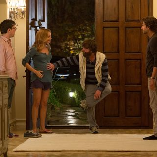 Ed Helms, Heather Graham, Zach Galifianakis and Bradley Cooper in Warner Bros. Pictures' The Hangover Part III (2013) - hangover-part-iii-warner03