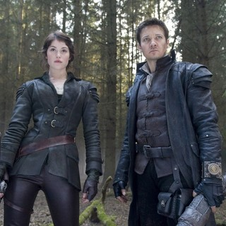Gemma Arterton stars as Gretel and Jeremy Renner stars as Hansel in Paramount Pictures' Hansel and Gretel: Witch Hunters (2013)