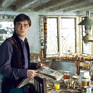 Harry Potter and the Deathly Hallows: Part I - Daniel Radcliffe stars as Harry Potter in Warner Bros. Pictures' Harry Potter and the Deathly Hallows: Part I (2010)