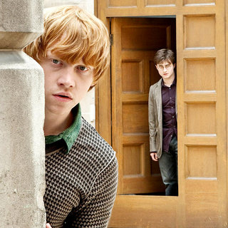 Rupert Grint stars as Ron Weasley and Daniel Radcliffe stars as Harry Potter in Warner Bros. Pictures' Harry Potter and the Deathly Hallows: Part I (2010)