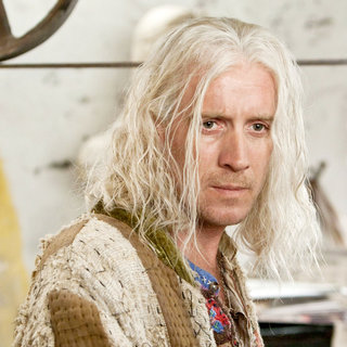 Rhys Ifans stars as Xenophilius Lovegood in Warner Bros. Pictures' Harry Potter and the Deathly Hallows: Part I (2010)