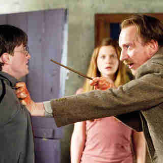 Daniel Radcliffe, David Thewlis and Bonnie Wright in Warner Bros. Pictures' Harry Potter and the Deathly Hallows: Part I (2010)