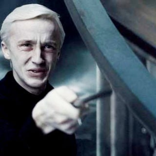 Tom Felton stars as Draco Malfoy in Warner Bros Pictures' Harry Potter and the Half-Blood Prince (2009) - harry_potter_hbp108