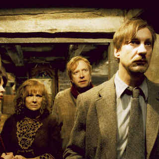 Harry Potter and the Half-Blood Prince - Natalia Tena, Julie Walters, Mark Williams and David Thewlis in Warner Bros Pictures' Harry Potter and the Half-Blood Prince (2009)