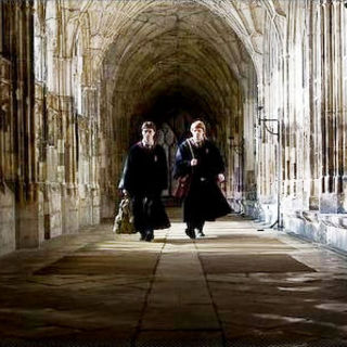 Harry Potter and the Half-Blood Prince - Daniel Radcliffe stars as Harry Potter and Rupert Grint stars as Ron Weasley in Warner Bros Pictures' Harry Potter and the Half-Blood Prince (2009)