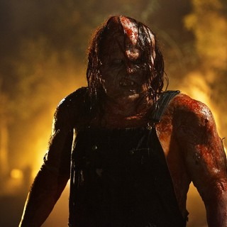 Kane Hodder stars as Victor Crowley in Dark Sky Films' Hatchet III (2013)
