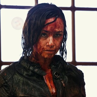 Danielle Harris stars as Marybeth in Dark Sky Films' Hatchet III (2013)