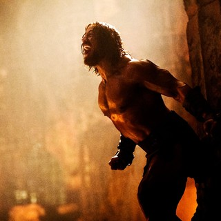 Hercules - The Rock stars as Hercules in Paramount Pictures' Hercules (2014). Photo credit by David James.