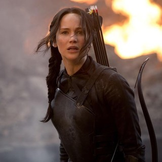 Hunger Games: Mockingjay, Part 1, The - Jennifer Lawrence stars as Katniss Everdeen in Lionsgate Films' The Hunger Games: Mockingjay, Part 1 (2014)
