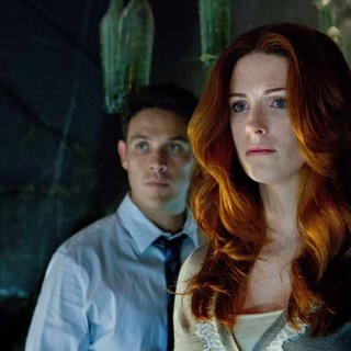 Kevin Alejandro and Bridget Regan stars as Annabelle Granger in TNT's Hide (2011)