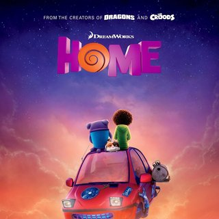 Home (2015) - Poster of 20th Century Fox's Home (2015)