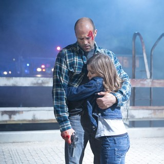 Jason Statham stars as Phil Broker and Izabela Vidovic stars as Maddy Broker in Open Road Films' Homefront (2013)
