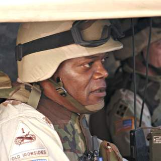 Samuel L. Jackson as Will Marsh in MGM's Home of the Brave (2006)