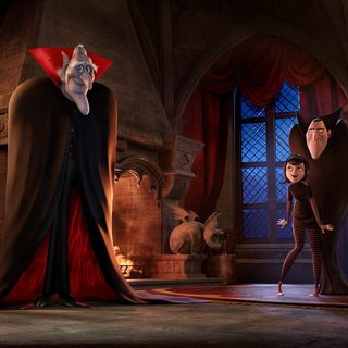 Vlad, Mavis, Dracula and Jonathan in Columbia Pictures' Hotel Transylvania 2 (2015)