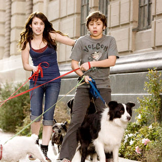 Emma Roberts stars as Andi and Jake T. Austin stars as Bruce in DreamWorks' Hotel for Dogs (2009)