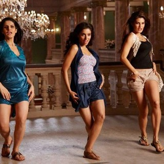 Zarine Khan, Asin and Shazahn Padamsee in Eros Entertainment's Housefull 2 (2012)