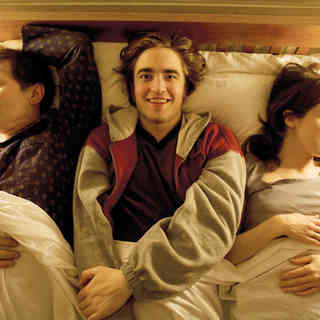 Michael Irving, Robert Pattinson and Rebecca Pidgeon in IFC Films' How to Be (2009)