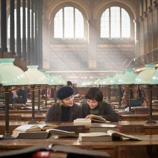 Chloe Moretz stars as Isabelle and Asa Butterfield stars as Hugo Cabret in Paramount Pictures' Hugo (2011)