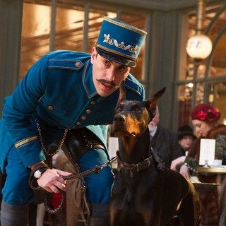 Sacha Baron Cohen stars as Station Inspector in Paramount Pictures' Hugo (2011)