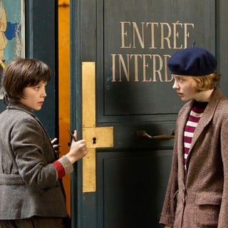 Asa Butterfield stars as Hugo Cabret snd Chloe Moretz stars as Isabelle in Paramount Pictures' Hugo (2011)