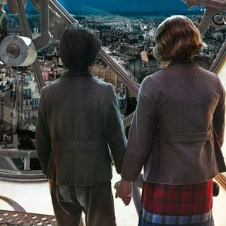 Asa Butterfield stars as Hugo Cabret snd Chloe Moretz stars as Isabelle in Paramount Pictures' Hugo (2011) - hugo-pic04