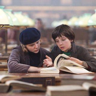 Chloe Moretz stars as Isabelle and Asa Butterfield stars as Hugo Cabret in Paramount Pictures' Hugo (2011) - hugo-pic07
