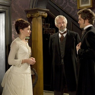 Felicity Jones, Jonathan Pryce and Hugh Dancy in Sony Pictures Classics' Hysteria (2012). Photo credit by Ricardo Vaz Palma.