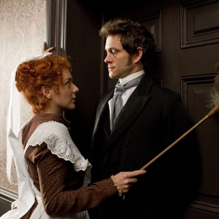 Sheridan Smith stars as Molly the Lolly and Hugh Dancy stars as Dr. Mortimer Granville in Sony Pictures Classics' Hysteria (2012). Photo credit by Ricardo Vaz Palma.