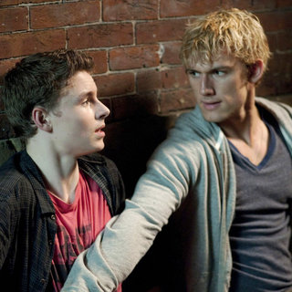 I Am Number Four - Callan McAuliffe stars as Sam and Alex Pettyfer stars as Number Four in DreamWorks Pictures' I am Number Four (2011)