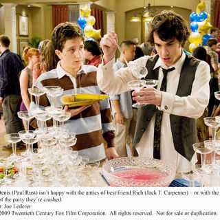 Paul Rust stars as Denis Cooverman and Jack Carpenter stars as Rich Munsch in Fox Atomic's I Love You, Beth Cooper (2009). Photo credit by Joe Lederer.