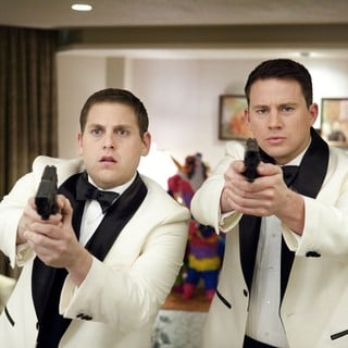 Jonah Hill stars as Schmidt and Channing Tatum stars as Jenko in Columbia Pictures' 21 Jump Street (2012)
