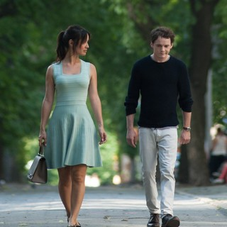 Berenice Marlohe stars as Arielle and Anton Yelchin stars as Brian in IFC Films' 5 to 7 (2015) - image-5-to-7-02